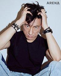 Ким Бён Чхоль для  журнала Arena Homme