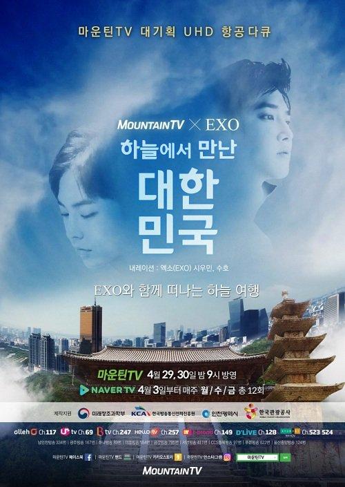 Корея с высоты птичьего полёта (2017)