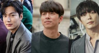 Ли Мин Хо, Гон Ю и Ким Джэ Ук на Неделе мужской  моды в Париже